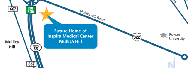 Inspira Medical Center Mullica Hill new location